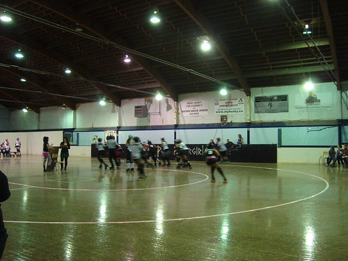 rated pg rollergirls invitational