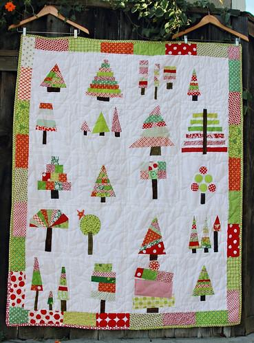 O' Christmas Tree Quilt
