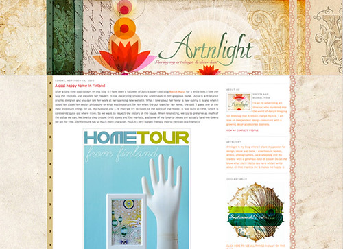 Home tour on Artnlight