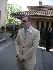 Marco, il testimone dello sposo