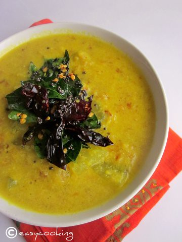 Kumbalanga Parippu Curry