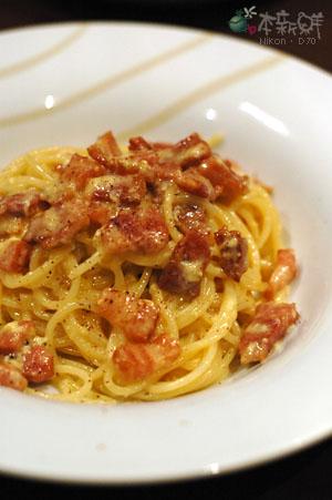 Spaghetti Alla Carbonara(起司蛋汁培根麵)
