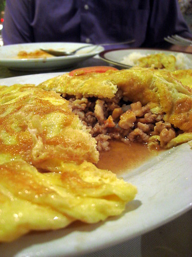 Rhoum  - Omelet with meat
