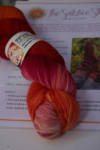 Firebird yarn