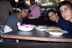 kabbob eatin in Susa, IRAN (AriJoon) Tags:
