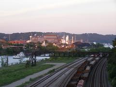 Braddock PA Sunset (KatrencikPhotoArchives) Tags: pittsburgh pa 2007 braddock katrencik