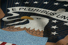 Mosaic of Presidential Seal
