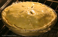 Chicken Pot Pie Baking