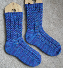 River Run Socks 072407