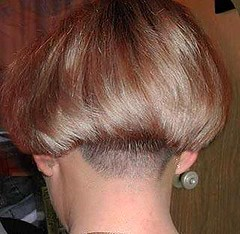 Women With Clippered Nape Haircuts http://ronbrown.girlshopes.com/clipperednapes/