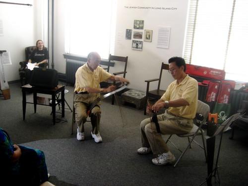 Mr. Chen & Liming duet