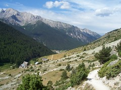 Le Villard and Ceillac in the distance