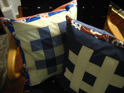Japanese Quilt Block Pillows