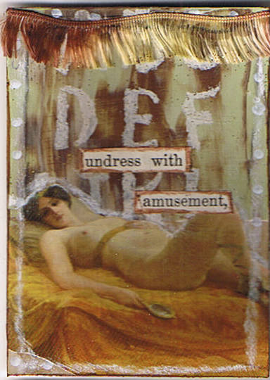 Undress with Amusement