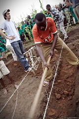 Digging (>> EL-L) Tags: poverty africa building construction digging poor foundation trench uganda dig elton gfr kamwenge globalfamilyrescue
