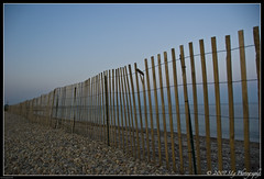 Along the Fence (Sly----) Tags: ocean travel sea beach bike fence vineyard nikon path capecod perspective sound cape breeze cod falmouth d80