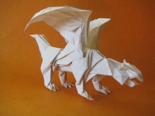 Origami Dragon 03