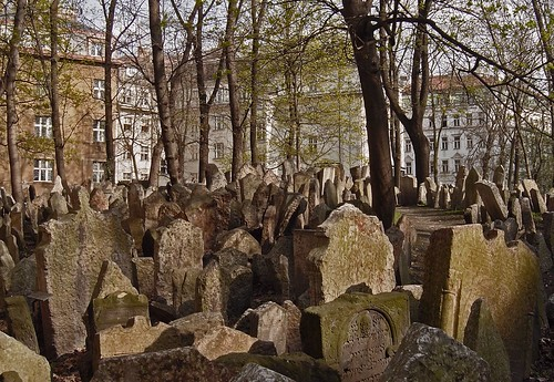Old Jewish Cemetery in Prague