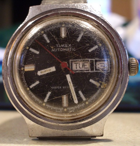 Timex 1978 Automatic Day Date Diver Project