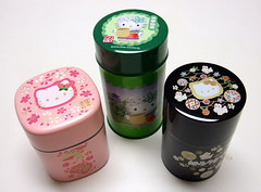 HK tea canisters (kitkabbit) Tags: tea hellokitty sanrio kawaii