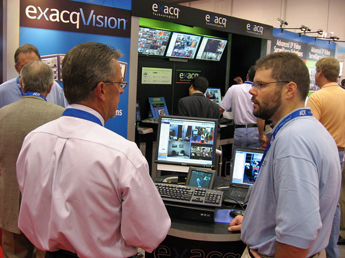 Exacq at ASIS 2007 5