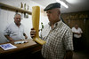 (Paulgi) Tags: portrait man money portugal saint shop book europe catholic leg wax 24mm são joão pilgrims romeiros minho arga paulgi romeiros~pilgrims