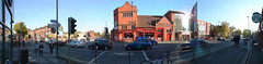 Panorama of Wilmslow Road, Fallowfield, Manchester (kh1234567890) Tags: road uk england panorama orange trafficlights manchester friendship grove wideangle starbucks sainsburys xs crossroads googleearth orangegrove fallowfield wilmslowroad dsch1 sainsbury buslane autopano fallowfieldstation panoramio ladybarn vcldh0758 friendshipinn ladybarnroad