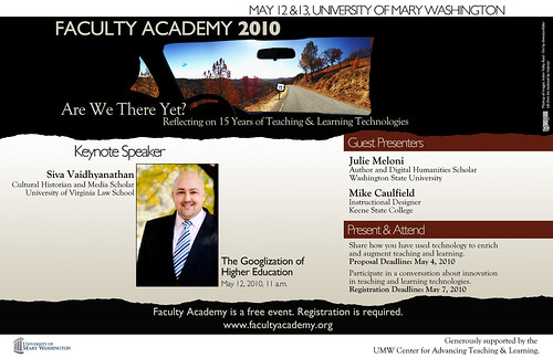 IMAGE OF UMW'S FACULTY ACADEMY 2010