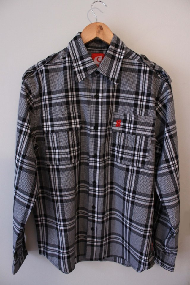 scribe button up shirt