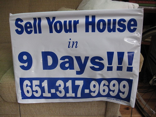 Sell Your House in 9 Days!!! Snipe