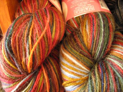 New Misti Handpainted Sock colours!