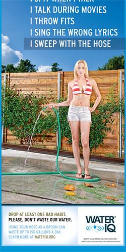Water IQ Print Ad