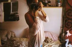 (Melania Brescia) Tags: film mirror yashica mg1 melaniabrescia
