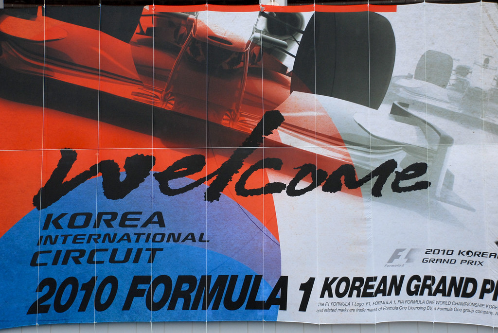 Formula1 Korean GP 2010