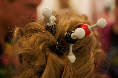 Molecule hair piece