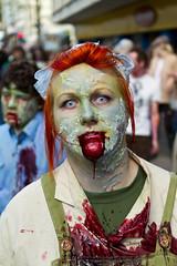 Brighton Zombie Walk 2010 - Dribble (smileham) Tags: halloween mouth walking dead blood brighton zombie walk horror undead zombies