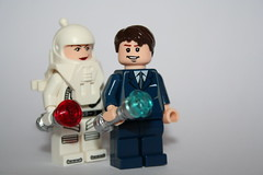 Pretty-boy and the archeologist (Spielbrick Films) Tags: david alex river lego who song 10 kingston doctor ten 10th minifig minifigs philip minifigure tennant tenth minifigures corsius spielbrick