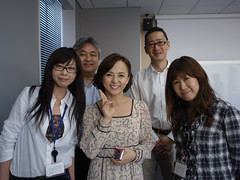 Ms. Maiko Ito visited DG office for Twitter interview