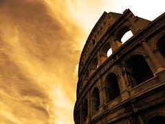 The Colosseum (QuinntheIslander) Tags: city italy rome roma mediterranean italia capital colosseum capitale region lazio  italya litalia lacapitale