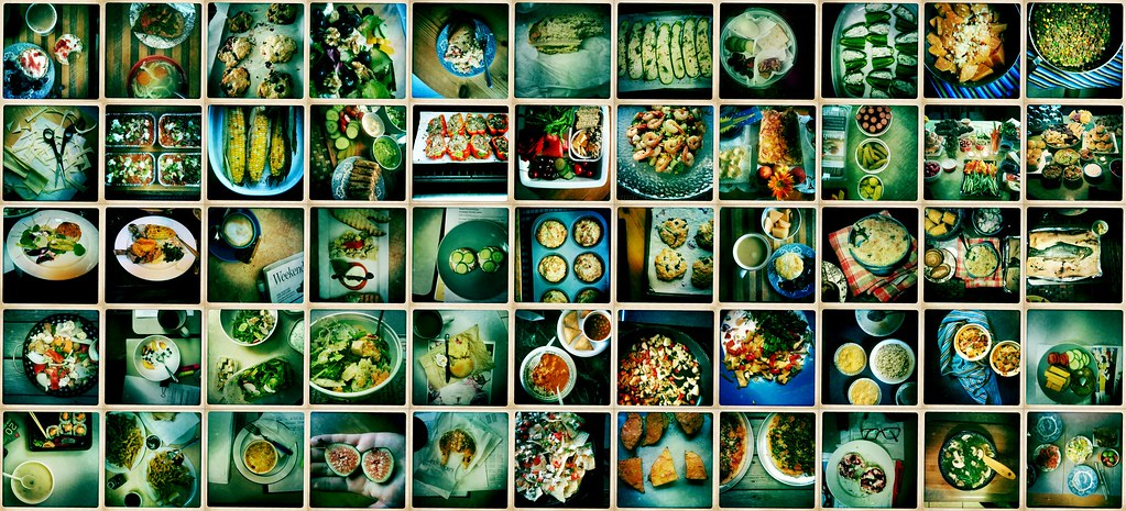 you are what you eat. 2 months worth of hipstamatic food shots