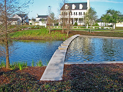 this pond in Baldwin Park doubles as stormwater control (by: EPA Smart Growth)