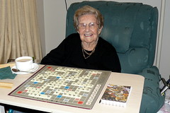 Grandma after yet another scrabble game