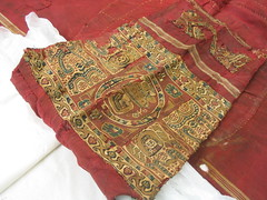 Detail of Coptic Tunic, Museum No. 291-1891