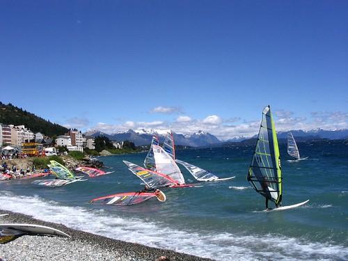 Windsurf en Bariloche por <asparagus dudette>.