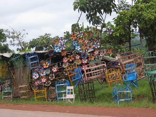 Uganda - Roadside Baskets