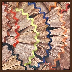 Textured Waves (adrians_art) Tags: wood macro film pencils geotagged bravo patterns curves angles textures scanned abstracts slides geotags linescurves magicdonkey outstandingshots mywinners abigfave holidaysvancanzeurlaub diamondclassphotographer