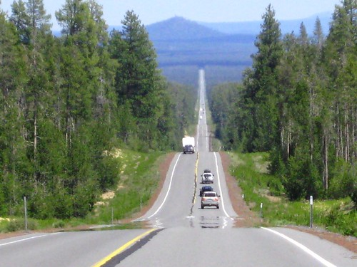 Rte138 Leaving Crater Lake