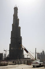 burj dubai, under construction