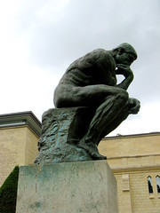 The Thinker by HarshLight