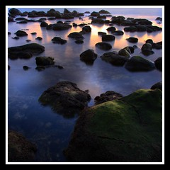 Morning Reflected (Tyler Huston) Tags: ocean morning sea seascape reflection nature sunrise landscape hawaii rocks scenic maui lavarocks blueribbonwinner flickrsbest flickrdiamond kuaubeach